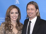 Standing by her man: Angelina Jolie can't make her Aunt Debbie Martin's funeral on June 2 as she will be in London to support Brad at film premiere