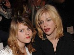Family ties: Courtney Love opened up to Howard Stern in a recent interview about her relationship with estranged daughter Frances Bean Cobain, whom she had with the late Nirvana rocker Kurt Cobain