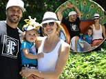 Having a wild time! Kevin Federline and girlfriend treat their cute daughter Jordan to a fun-filled day at the zoo