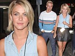 Julianne Hough and her brother Derek Hough