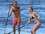 Young love: Ireland Baldwin talks about her relationship with pro stand-up paddle boarder Slater Trout