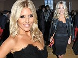 Shunning summer brights: Mollie King stuns in jet black strapless frock as she leads glamour at Esquire Summer Party
