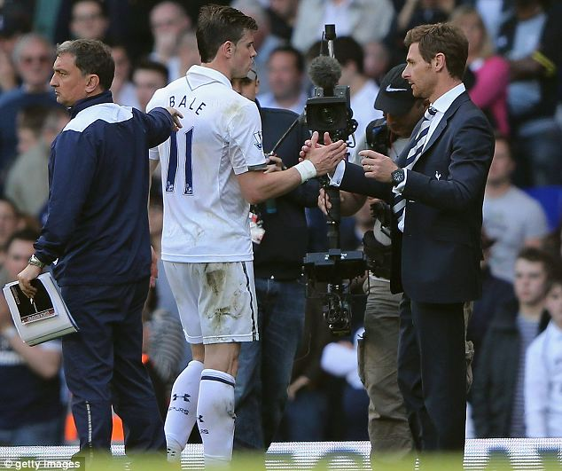 Key man: Manger Andre Villas-Boas must keep hold of Bale despite setback