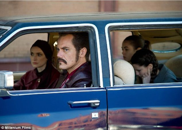 Chilling: Winona Ryder plays the wife of notorious Mafia hitman Richard Kuklinski (played by Michael Shannon) in the movie
