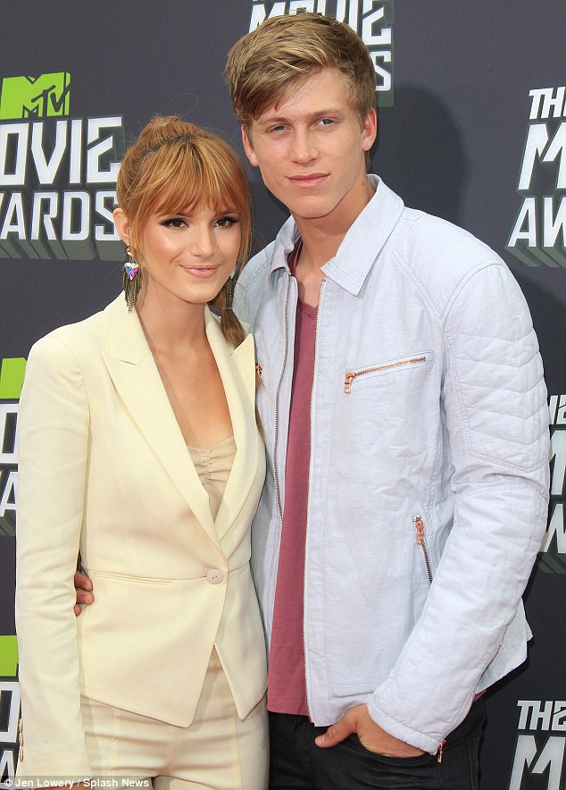 Her heart's taken: Bella has been dating Tristan Klier for more than a year, and he joined her at the recent MTV Movie Awards