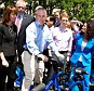 Ricin Plot: Mayor of New York City, Michael Bloomberg attends a press conference for the CitiBike Program on Memorial Day