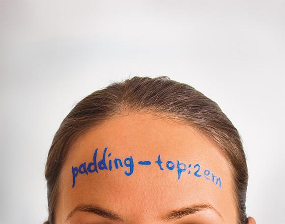 Sexy CSS Tips : padding-top