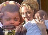 Whatever Milan wants! Make-up free Shakira shows off her slim post-baby bod as she takes her 4-month-old son on a shopping spree