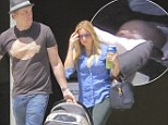Meet baby Bell! New mother Kristen and partner Dax Shepard debut their tiny daughter Lincoln for the first time