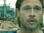 Paramount Pictures releases 45-second clip of World War Z amidst news that Angelina Jolie will attend the London premiere