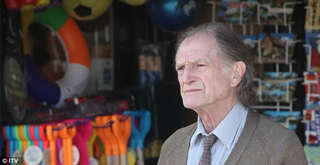 Red herring: Jack Marshall (portrayed by David Bradley) was a major suspect after it was revealed he had a shady past