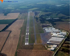 Aerial photo of KLNC (Lancaster Airport)