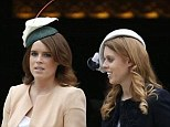 Sisters: The Princesses today made a big step into public life as a Royal at the garden party. Previously they have taken a back seat to the more high-profile young royals