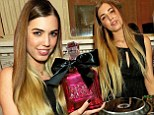 Amber Le Bon was DJing at the juicy couture fragrance party