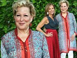 Simply Divine Miss M! Bette Midler teams up with Katie Couric at charity picnic