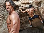 'He's a hero to me': Joe Manganiello shows off his incredible muscles as he reveals his plan to take over as Schwarzenegger's heir