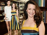 Battle of the hemlines: Kristin Davis and Minnie Driver get to the long and short of it