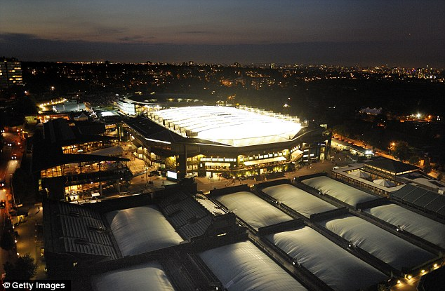 Play on: The roof over Centre Court has been regarded as a success since its installation in 2009