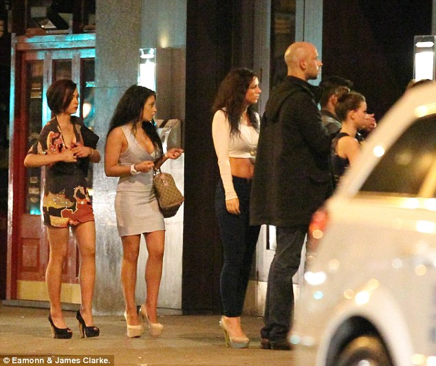 What's the hold up? More WAG wannabes turned up to the city centre venue