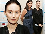 A family affair! Rooney Mara joins mother Kathleen at Social Innovation Summit