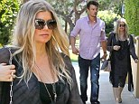 Fergie and husband Josh Duhamel look for houses in California as her due date looms