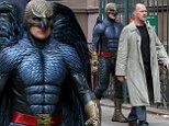 Michael Keaton is being followed by the Birdman on his latest film set