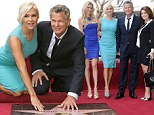 He's certainly HER star! Real Housewives' Yolanda Foster proudly supports husband David as he gets his star on the Hollywood Walk of Fame