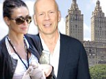 NYC's most amicable apartment block? Demi Moore's ex-husband Bruce Willis moves into her building after purchasing the $8.8mil neighboring home with wife Emma