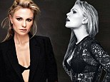 'It's going to get darker': Sultry Anna Paquin reveals True Blood twist as she poses for first shoot since giving birth to twins