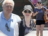 That's where she gets her smile from! Anna Faris enjoys a day out with her father, showing us she's still got those legs that made her a House Bunny