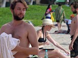 Romantic rendezvous! Mad Men's Vincent Kartheiser and fiancee Alexis Bledel soak up the sun in Hawaii