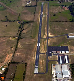 Aerial photo of KSEP (Clark Field Municipal Airport)