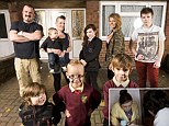Dean and Claire Bell and family. The Estate by Keo Films for Channel Four, Scunthorpe, England. London.
