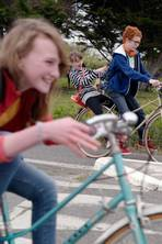 Vive le school run: Children's journeys to school in rural Brittany are packed with mini-adventures