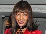 Red alert: Naomi Campbell is looking to rent in an exclusive area, such as One Hyde Park