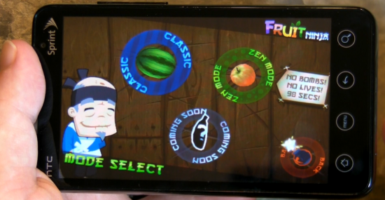 fruit ninja game for android
