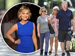 Enjoying some family recreation! Amy Poehler spends quality time with parents before turning heads at charity gala