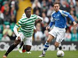 Physical: Wanyama has provided the strength in Celtic's midfield this season