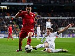 Tricky winger: Jesus Navas (left) looks set to join Manchester City as he prepares to leave Sevilla