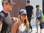 Tisdale's stalker is arrested again for violating restraining order... as Ashley and her boyfriend Christopher French distract themselves with some retail therapy