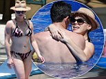 The beat goes on! Megan Hilty shows off her curves on a Hawaiian beach and canoodles with her boyfriend, following the cancellation of NBC's Smash