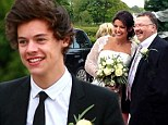 Harry Styles beams with joy at his mother's wedding day, where he acted as best man