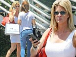 It's never too early to hit the shops! Rachel Hunter tags along daughter Renee Stewart for a Saturday morning shopping spree