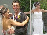 Forever Young: After onscreen proposal, American Idol contestants Diana DeGarmo and Ace Young get married in Los Angeles