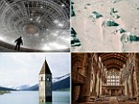 These are some of the world's strangest places, spots where time appears to have stood still. Once thriving places that are now ghost towns