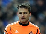 Dogfight: Mignolet admitted he doesn't relish another season of struggle against relegation at Sunderland