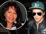 Singer Bruno Mars' mother Bernadette Hernandez, 55, 'dies of brain aneurysm'
