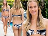 Body after baby: Kristin Cavallari flaunts her flawless post-pregnancy bikini figure