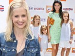 Sarah Michelle Gellar and Angie Harmon indulge in a day of family fun at the Kidstock Festival in Beverly Hills