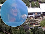 Like what you see? Jennifer Aniston gasps as she rolls up to her newly renovated $21m Bel-Air mansion ahead of her wedding to Justin Theroux